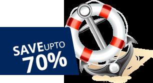 Save Upto 70%